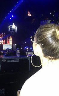 Jlo en concierto de Justin Bieber