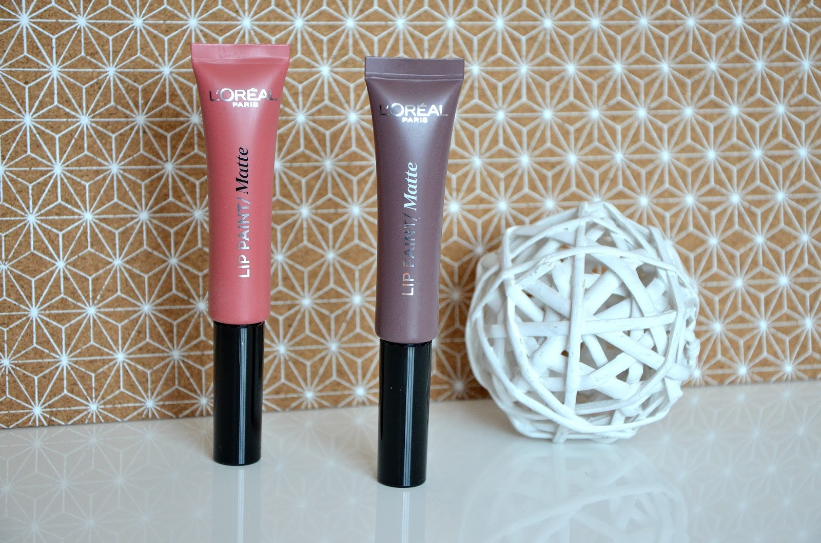 Rouges à lèvres infaillible lip paint matte L'Oréal Paris