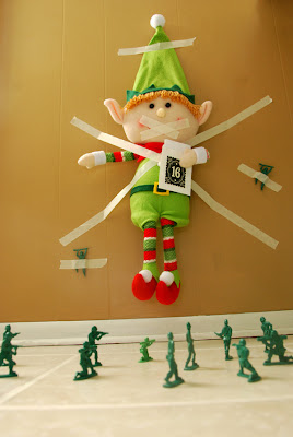 elf on the shelf advent bible study hostage