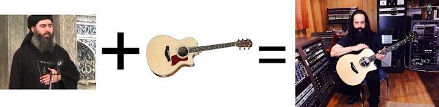 Isis Leader + Guitar = John Petrucci