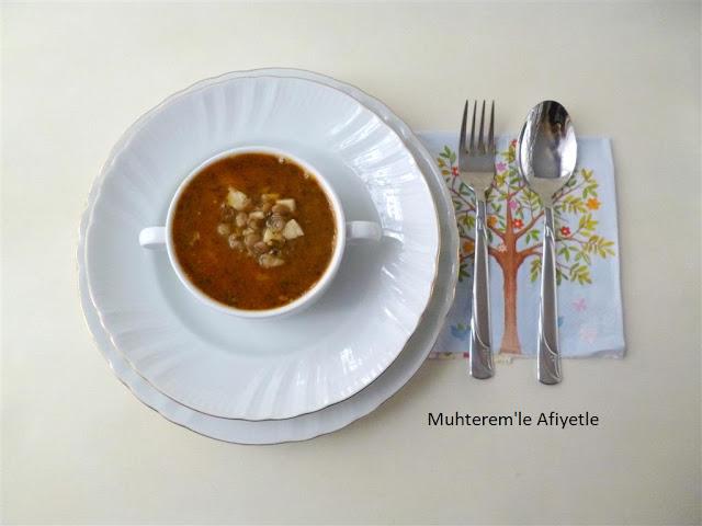 akşam yemeği için çorba önerisi