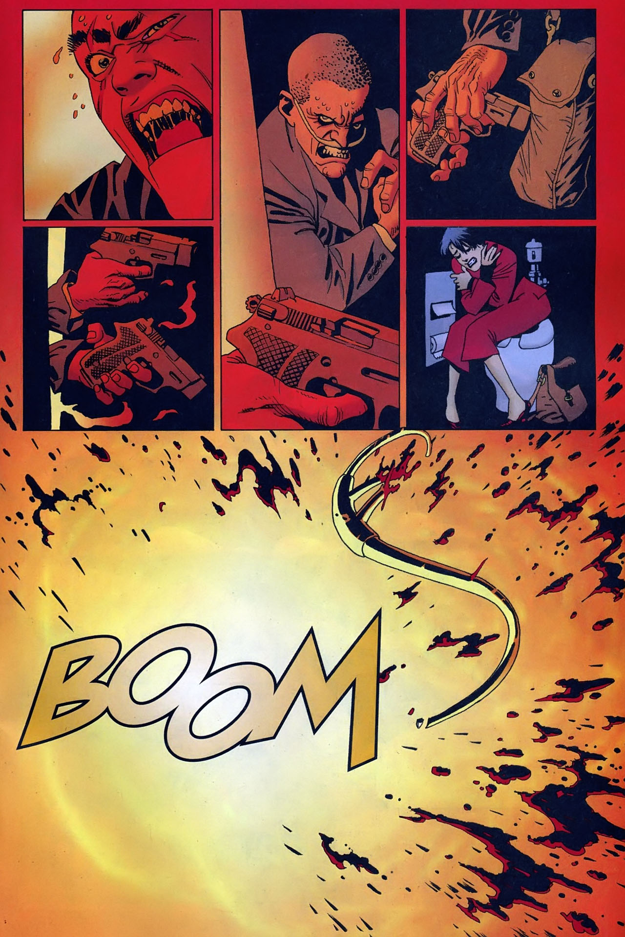 Read online 100 Bullets comic -  Issue #93 - 22