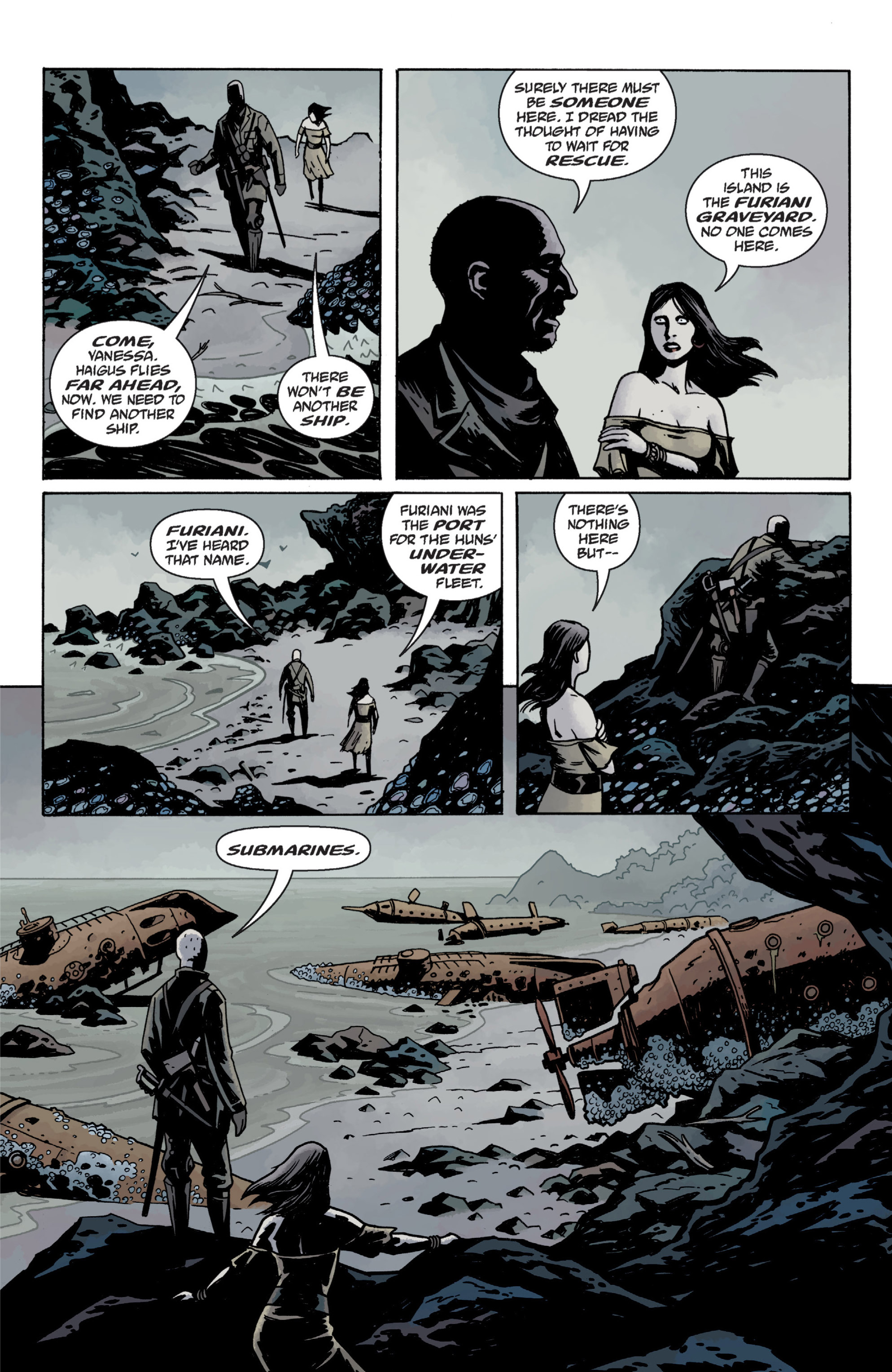 Read online Baltimore: The Plague Ships comic -  Issue # TPB - 69