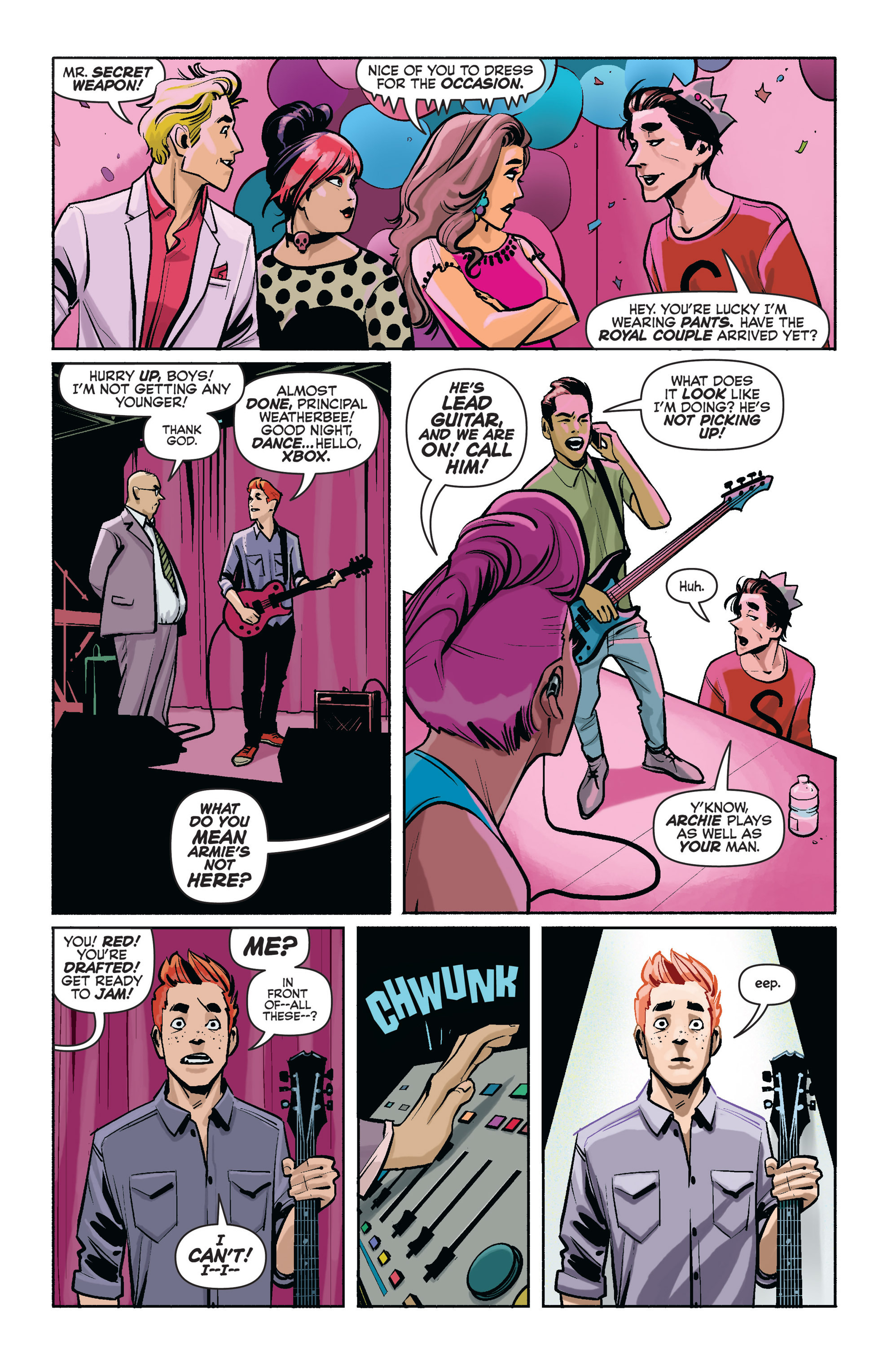 Read online Archie (2015) comic -  Issue #1 - 16