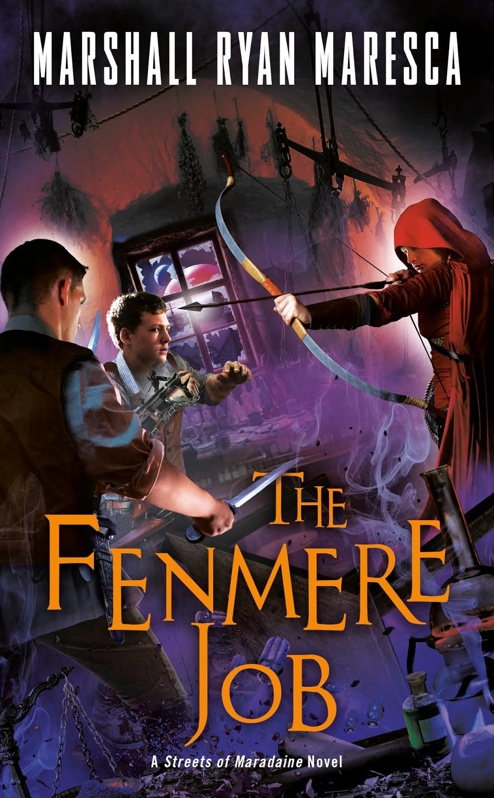 The Fenmere Job (Streets of Maradaine Bk3)