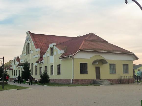 Самбір. Львівська область. Залізничний вокзал