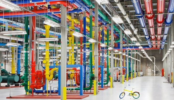 Seperti Apakah Data Center Google 2