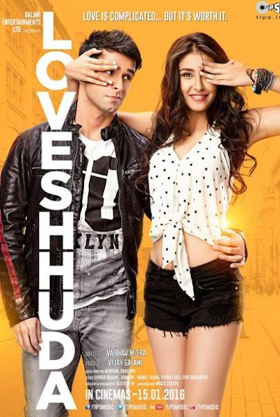 Poster Of Loveshhuda 2016 480p Hindi DVDScr Rip Full Movie Download