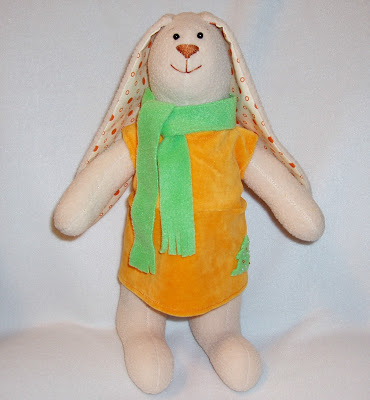 Платье из хлопкового велюра, брючки, шарфик-из флиса.