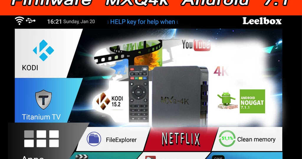download firmware for mxq 4k android 7.1.2 2019