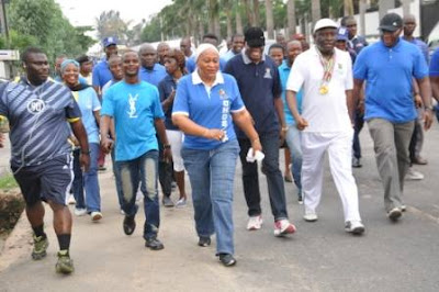 Lagos civil servants urged to make regular exercise a habit