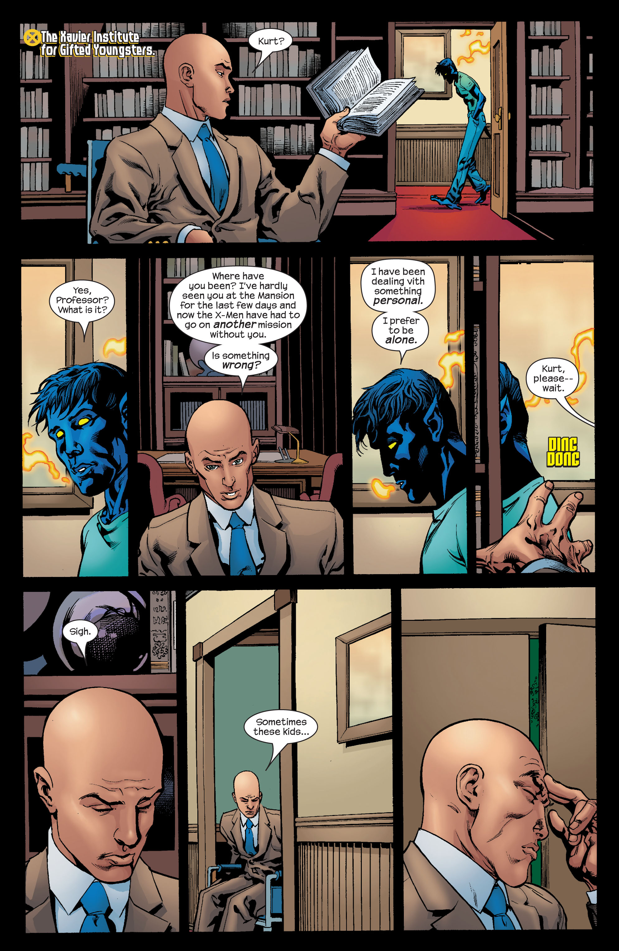 Read online Ultimate X-Men comic -  Issue #72 - 19
