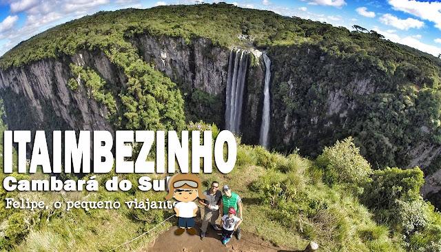 Canyon Itaimbezinho, em Cambará do Sul, nos Campos de Cima da Serra do RS