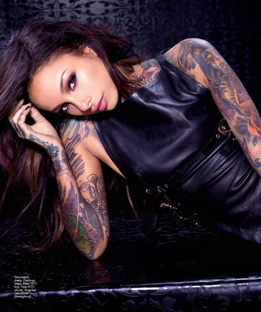 Cleo Wattenstrm On The Cover Of Inked Magazine  Bootymotiontv-2444