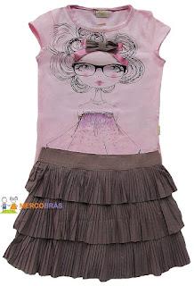 Kit de moda infantil para revender