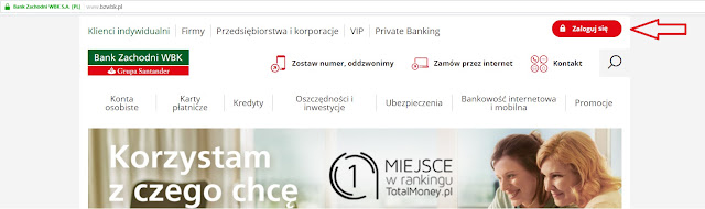 logowanie do bankowości internetowej BZWBK