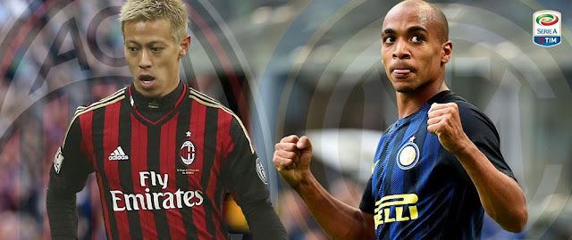Internazionale x Milan (20/11/2016) - Prognóstico, horário e TV do Clássico de Milão