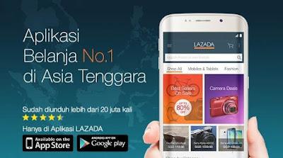 Aplikasi Toko Online Lazada