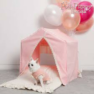 LOUIS DOG PEEKABOO HOUSE IN AMAZING PINK