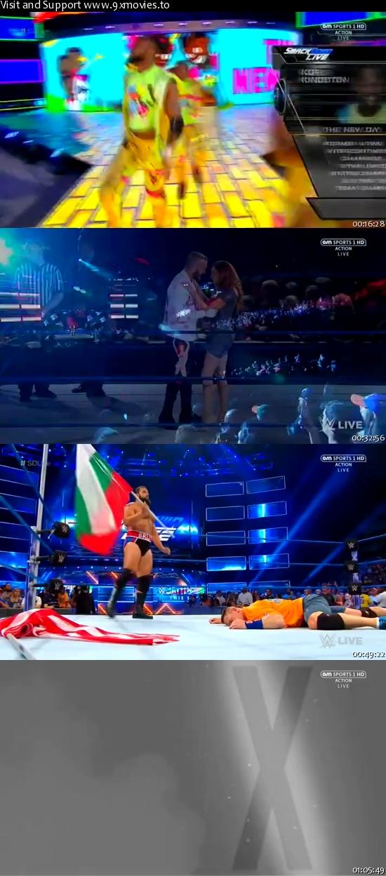 WWE Smackdown Live 18 July 2017 HDTV 480p