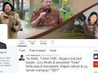 Cuitan SBY Dibully Ribuan Netizen, Roy Suryo Malah Bilang Begini.....!