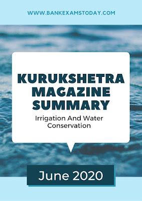 Kurukshetra Magazine Summary: June 2020