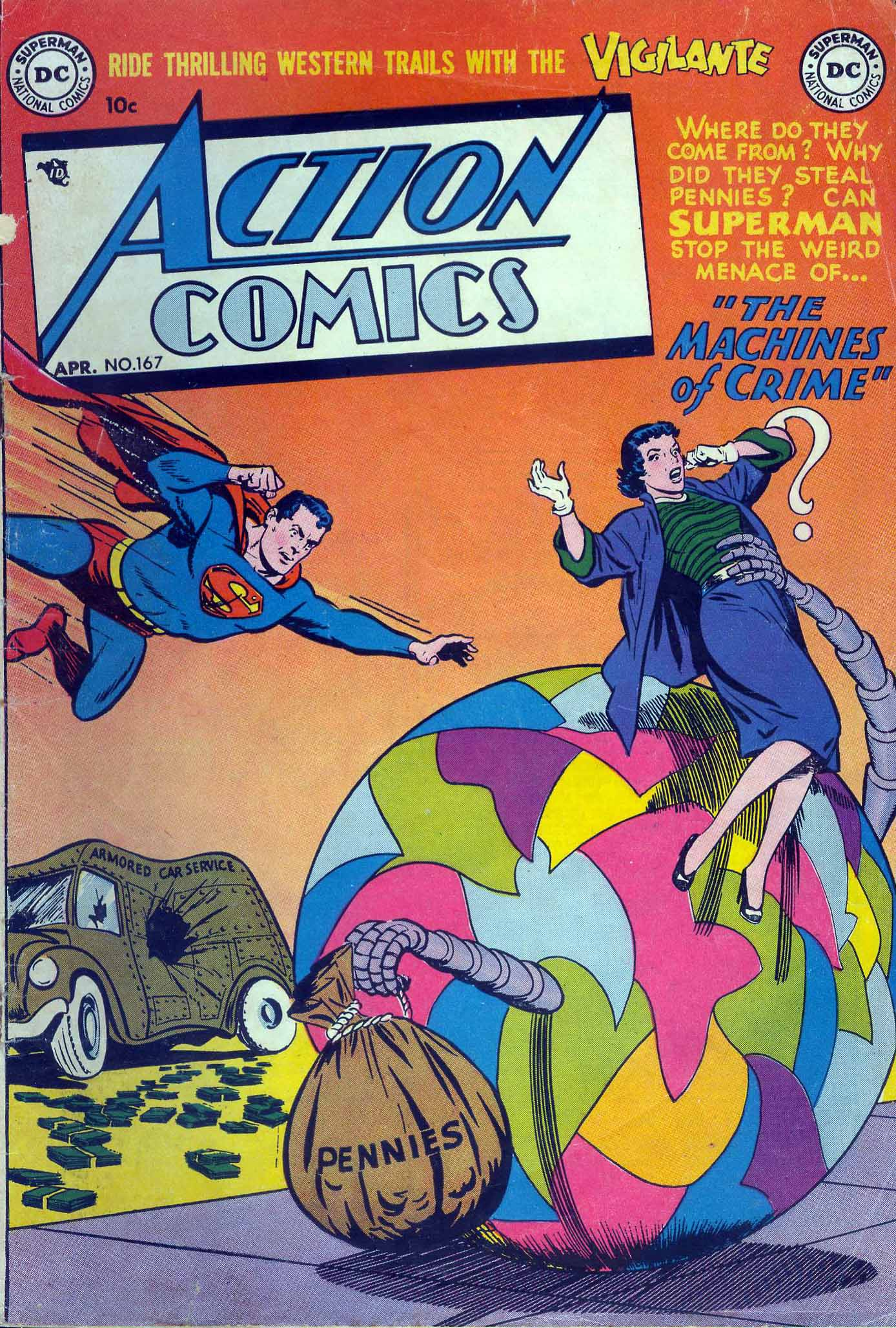 Read online Action Comics (1938) comic -  Issue #167 - 1