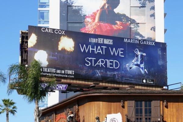 Carl Cox Martin Garrix What We Started billboard