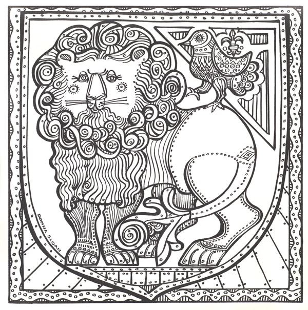 - PsyAmb: 50 Trippy Coloring Pages