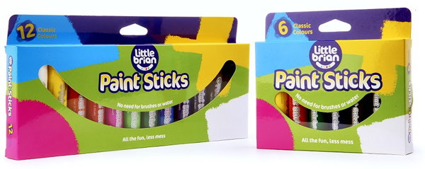 Review of Little Brian's Paint Sticks