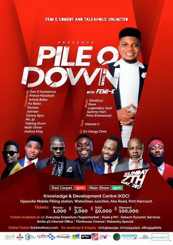 "EVENT: Femi K and The Talkaholic Crew Present, ""Pile O Down"" (2nd Edition)"