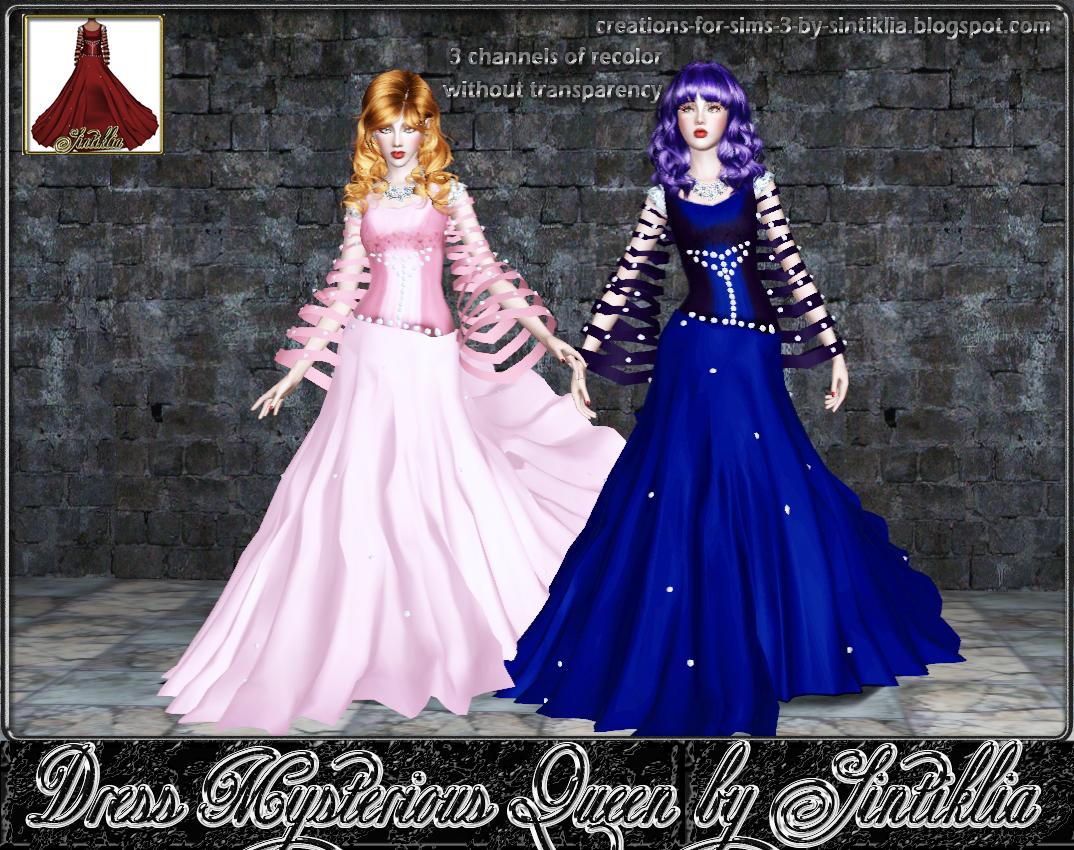 Shea Home Design Studio Irvine Sims 3 Snow Queen Dress My Sims 3 Blog Mysterious Queen