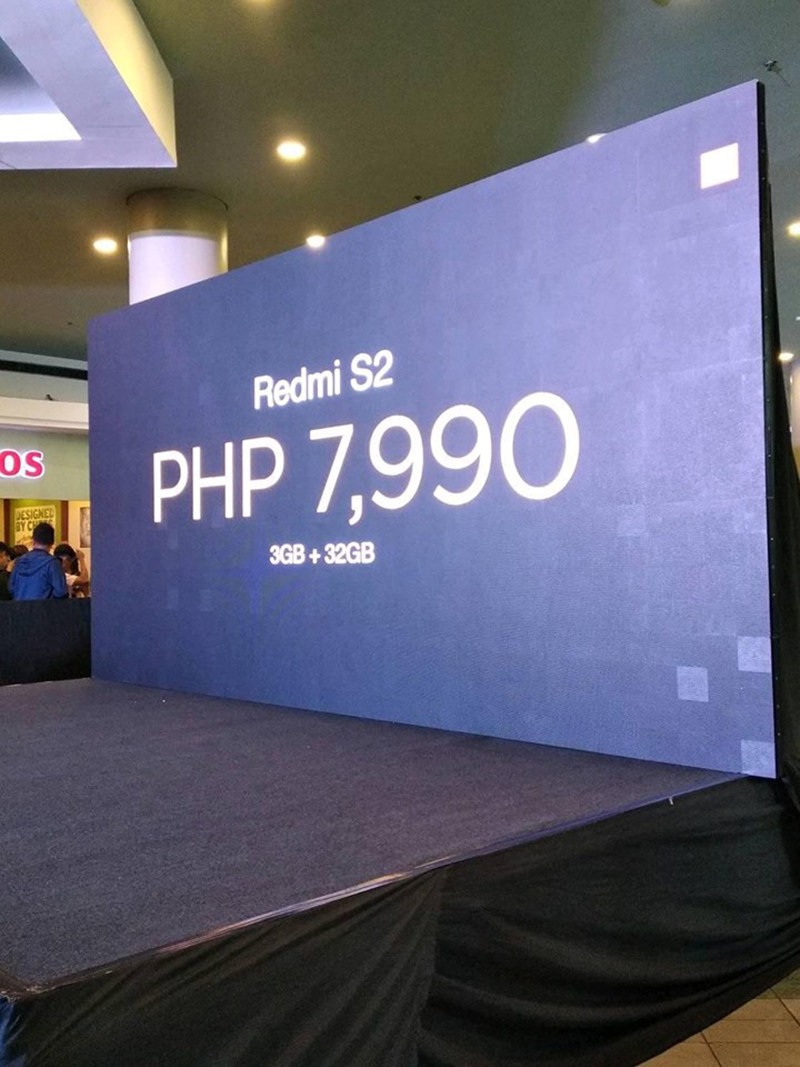 Photo grabbed from Therese Panganiban, the PR of Xiaomi in PH