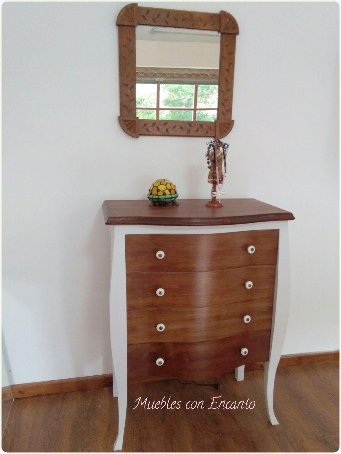 C moda en madera y blanco muebles con encanto - Muebles con encanto ...