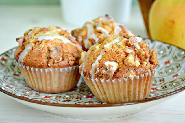 Muffins de Manzana, Nueces y Especias