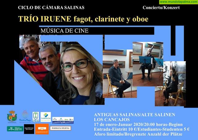 """SALINAS: """"Música de Cine"""" con el Trío Iruene"""