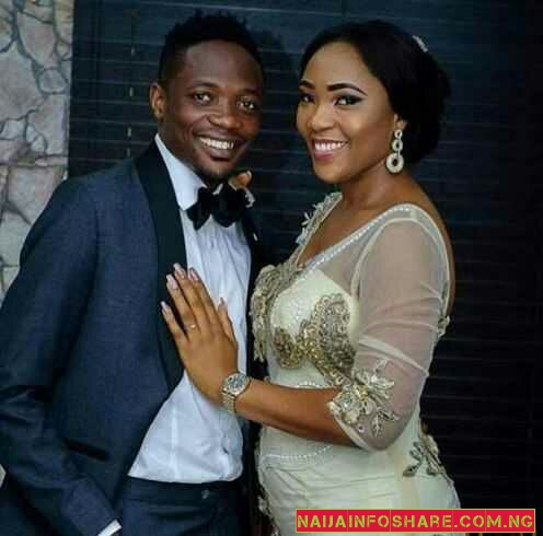 See Adorable Photos From Ahmed Musa Recent Wedding to Second Wife, Juliet