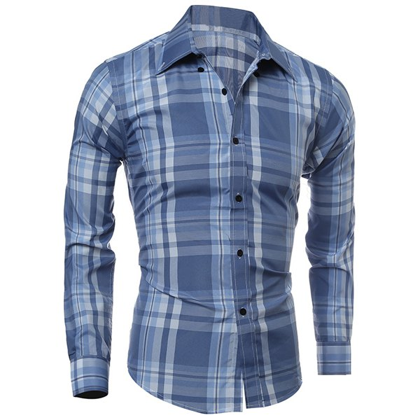 Shirt Collar Long Sleeves Shirt 02