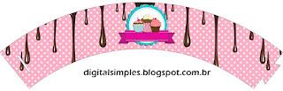 Wrappers para cupcakes de Chicas Haciendo Cupcakes.