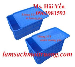 Bán sóng nhựa bít, sóng nhựa công nghiệp, thùng nhựa đặc giá rẻ