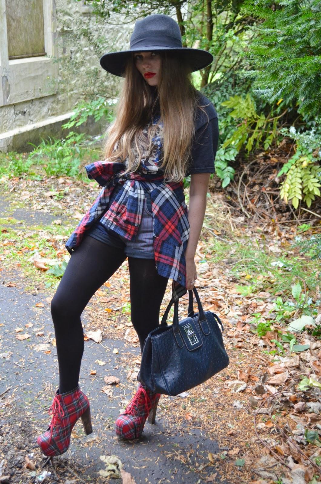 Scottish style blogger
