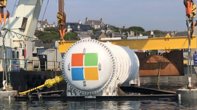 Microsoft se hunde en el centro de datos de Orkney