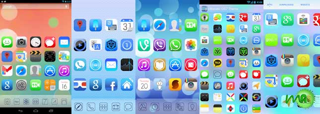 Ultimate iOS7 Apex Nova Theme 1.48 apk