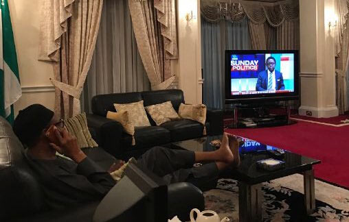 He is not dead: Buhari shares picture from London vacation