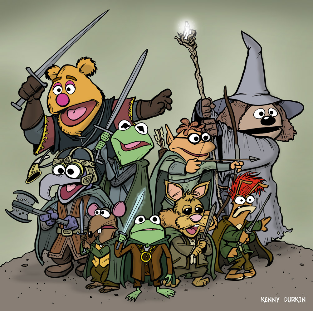Harry Potter Muppets: DURKINWORKS: The Fellowship Of The Muppets