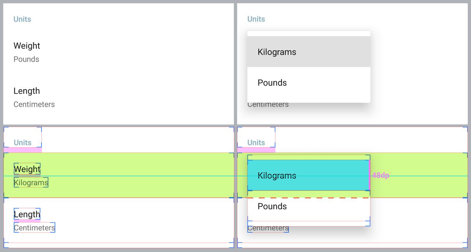 material design simple menu shaft developers blog