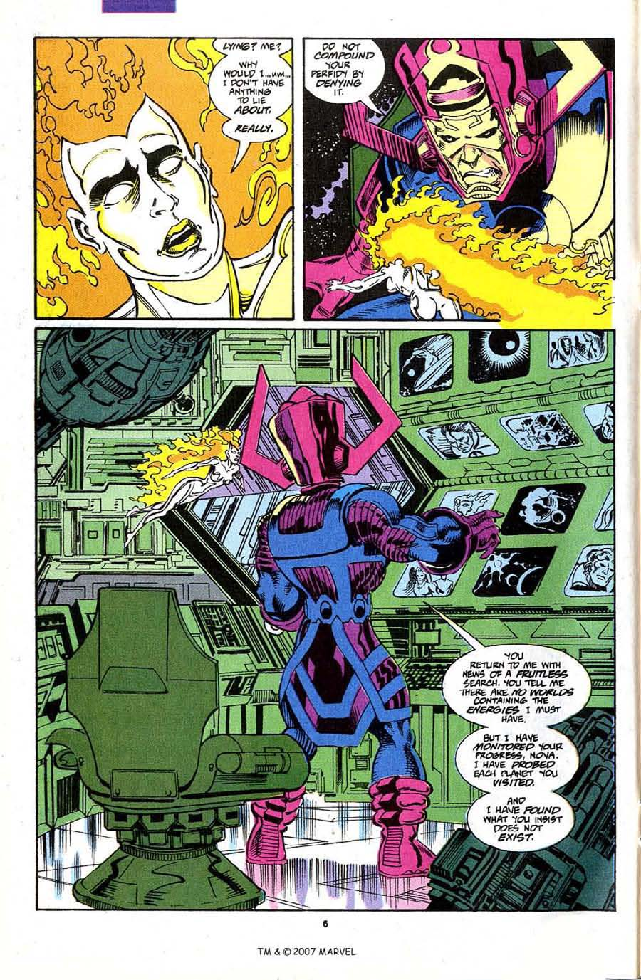 Read online Silver Surfer (1987) comic -  Issue #70 - 8