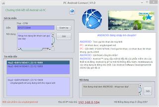 Kết nối máy tính đến android đa nền tảng dành cho Window, Mac, Linux