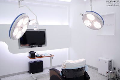 fue surgery room, hair transplant korea, korean hair transplant, hair surgery info