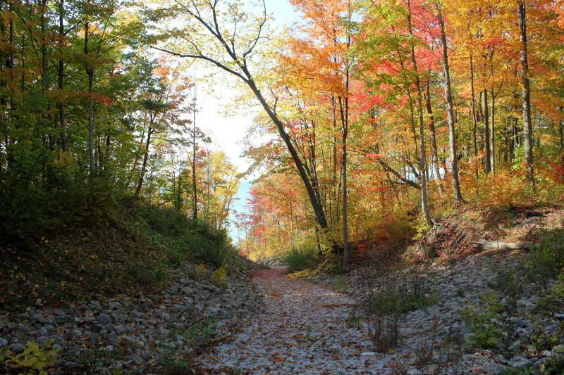 Lake Huron in the fall